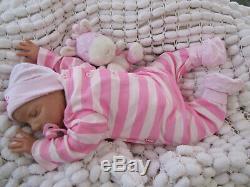 Lifelike Reborn Baby Doll British Artist Dan Handpainted 22 Sunbeambabies Ghsp