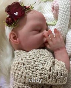MARSHMALLOW PLATINUM SILICONE Baby DollANNELENEFull BodyAward Winning Artist
