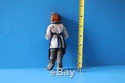 Marcia Backstrom Painter Artist Man Doll Hand Sculpted Handmade Dollhouse OOAK
