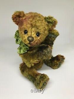 Marmaduke, Vintage Velvet Artist Bear by The Creative Tedd  N/R