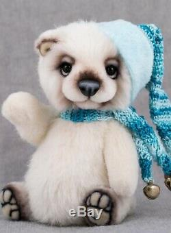 Marta. ArtsToy OOAK Teddy Bear Louis handmade Artist Toy