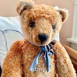 Mohair Artist Teddy Bears 32 Thomas by Donna Hinkelman, Bainbridge Bears, OOAK