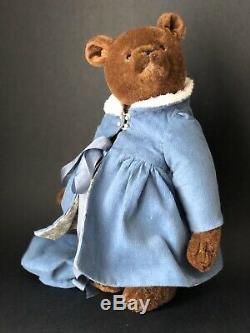 NEW PRICE! Bear Rhymes artist teddy bear Grace, OOAK Bear