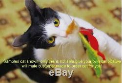 Needle Felted Animal Made to order custom cat Wool Art Sculpture ooak gift x