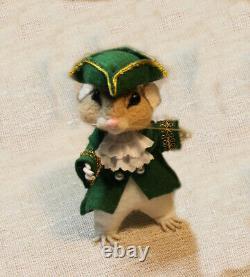 Needle felted mouse, Teddy animals, by jljuda handmade