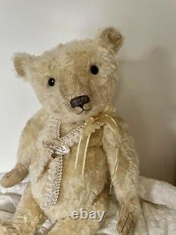 New OOAK Pat Murphy Artist Mohair Teddy Bear AJAX 18