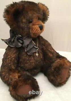 OOAK 12 Artist MOHAIR Bear WUV'n' CUDDLES by Barbara Burke Tucker
