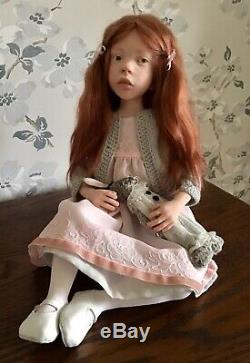 OOAK Artist Doll Hand sculpted by French Artist Laurence Ruet Rarely available