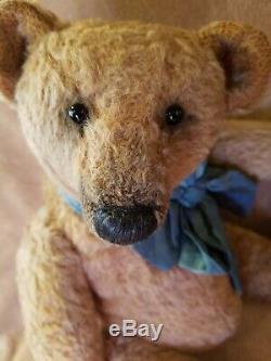 OOAK Artist Made MOHAIR 15 Teddy Bear by Elena Karasenko GILBERT LOVELY BOY