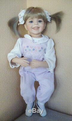 OOAK Artist Made Miranda Porcelain Doll Dianna Effner Studio Expressions Mold