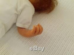 OOAK Artist Margariet Geerlings Ellen Polymer Clay 17 inches Preemie