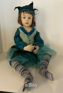 OOAK Doll 71 cm 28 inch by artist, Jamie Williamson Handmade, Early Piece