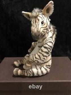 OOAK Handmade Zoya the Zebra by Master Artist Galina Morozova Jointed