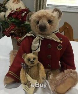 OOAK Mohair Artist Bear And Friend By Deb Beardsley Elertson