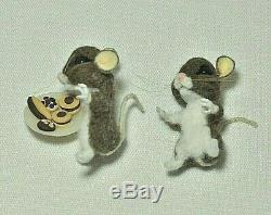 OOAK Needle felted Mice In Chair With Cookies Mouse Animal by Jljuda, Handmade