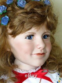 OOAK Porcelain Lovely RACHEL by American Master Doll Artist Marilyn Bolden