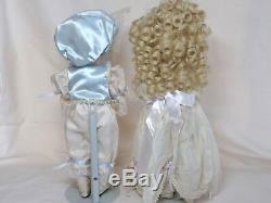 OOAK Porcelain dolls Eric & Emily by Jan Doehring New Orleans Artist