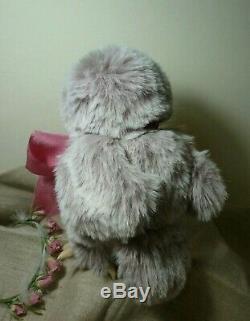 OOAK Rose owlet 6,2`` (16cm) by Irina Salimzyanova