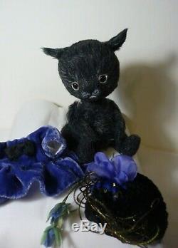 OOAK Sophie kitten 4,7in (12cm) by Irina Salimzyanova