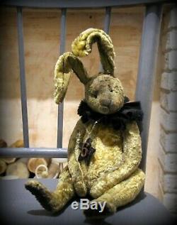 OOAK TEDDY ARTIST ANNA RUDENKO rabbit Antonio