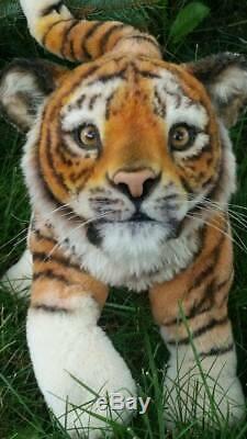 OOAK tiger THEO by Judi Paul / Luxembears
