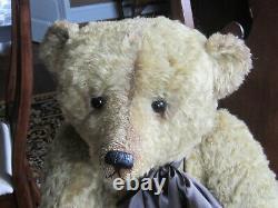Ooak Artist Mohair Bear By Sharon Barron 37 Inches