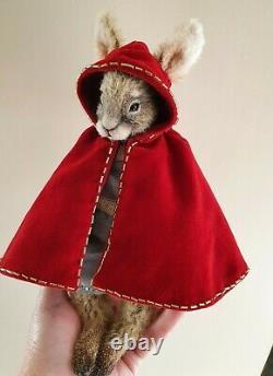 Ooak Artist handmade hare by Forest Fellows