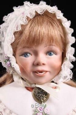 Orig Lucille Garrard Artist Doll Susie Red Hair 14 Porcelain & Cloth LE 17/100