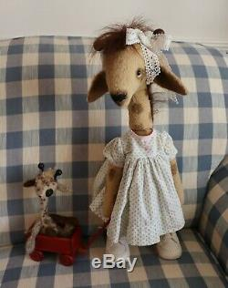 Padgate Bears 18 inch Baby Giraffe by Lee Jenkins One of a Kind Neddy
