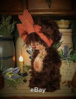 Patti's Ratties 10 Teddy Bear Hershey Star Flower Cub OOAK Doll Artist Sikes