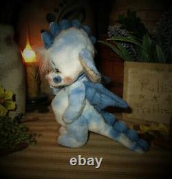 Patti's Ratties 5 Dragon Fantasy Monster OOAK Gift Doll Teddy Bear Artist Sikes