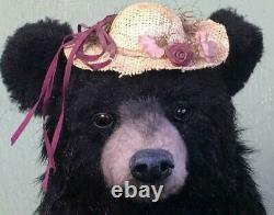 Pawtrait Bears OOAK Realistic Black Bear by Brigitte Smith