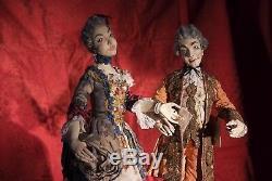 Peter Wolf German Artist Choice of Court Figural Art Sculptures Art Dolls OOAK