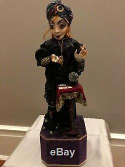 Peter Wolf German Artist Fortune Teller Automaton Figural Art Sculpture OOAK