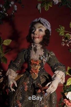 Peter Wolf German Artist The Puppeteer Automaton Figural Art Sculpture OOAK