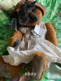 Portobello Bear Co Lady Philippa 1/1 Born 2001 Teddy Bear by Amy Goodrich