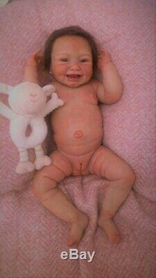Pototype Artist Full Body Silicone Ecoflex 20 Happiest Baby Shirley Drink WET