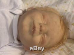 Preemie 15 Reborn Baby Doll Mason Bountiful Baby Artist Gingerlynn