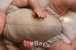 REALISTIC TODDLER DOLL REBORN 7LBS 3oz REALBORN BABY WINTER BY MARIE ARTIST 9YRS