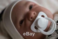 REBORN BABY DOLL GINGER NICE BOX OPENING ARTIST OF 9yrs MARIE / SUNBEAMBABIES