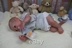 REBORN BABY DOLL PAISLEY NOW BEN NICE BOX OPENING ARTIST OF 9yrs MARIE GHSP