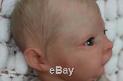 REBORN BABY DOLL PREEMIE 16 PREMATURE BEAN BY ARTIST OF 9yrs MARIE SUNBEAMBIES