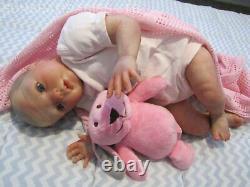 REBORN DOLL 21 BOUNTIFUL BABY GRACIE BY DAN ARTIST 6yr AT SUNBEAMBABIES & GIFT