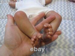 REBORN LIFELIKE DOLL 18 BOUNTIFUL BABY BY ARTIST 7yrs DAN AT SUNBEAMBABIES GHSP