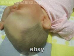 REBORN YAWNING LIFELIKE DOLL 20 BOUNTIFUL BABY ARTIST 7yrs DAN SUNBEAMBABIES