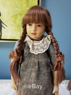Rare OOAK German Artist Beate Schult All Kidskin Tri Leather Painted Doll 14