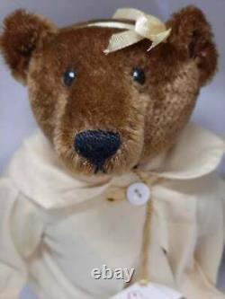 Rare Vintage 13 OOAK Mohair Teddy Bear by Artist Carolyn Jacobsen 1990's