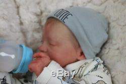 Realborn Sale Reduced Logan Textured Skin Boy Doll Reborn Artist 9yrs Marie