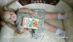 Realistic girl Betty by Natali Blick, Artist Olga Torgova