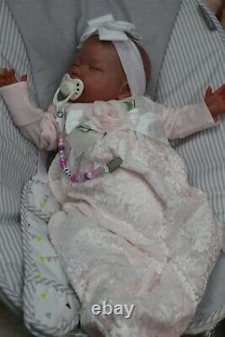 Reborn Baby 7lbs Doll, Elsa Ce Test, Full Limbs, Floppy Uk Artists Sunbeambabies